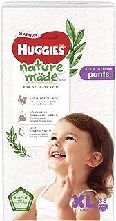Huggies Platinum Naturemade Pants XL 38s