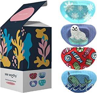 See Worthy Winter Eye Patches, Innovative Shape, Smart Adhesive Technology, Breathable Material and Fun Designs, (48 per B...