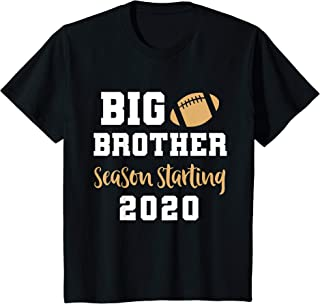 Kids Big Brother Football Pregnancy Announcement Shirt Fall T-Shirt