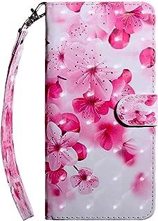 iPhone XS Max 手帳型 ケース, Zeebox® 高級PUレザー 薄型 簡約風 人気 財布型 ケース, カード収納 スタンド 機能 マグネット開閉式, 赤い花