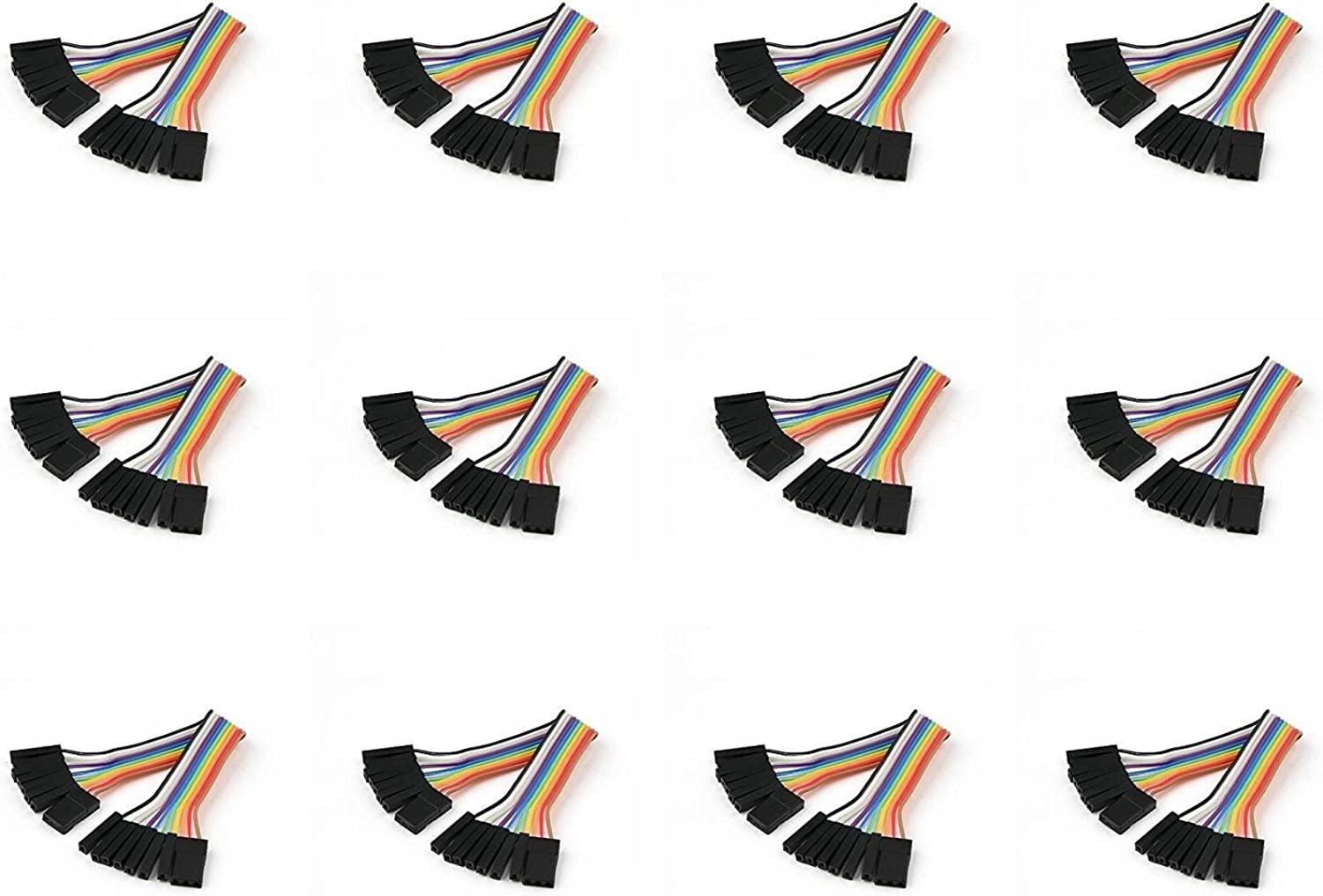 12 x Quantity of Walkera QR X350 PRO FPV (100mm) Super Clean RC Male to Male Ribbon Extensions Set(Servo Connector) - FAST FROM Orlando, Florida USA
