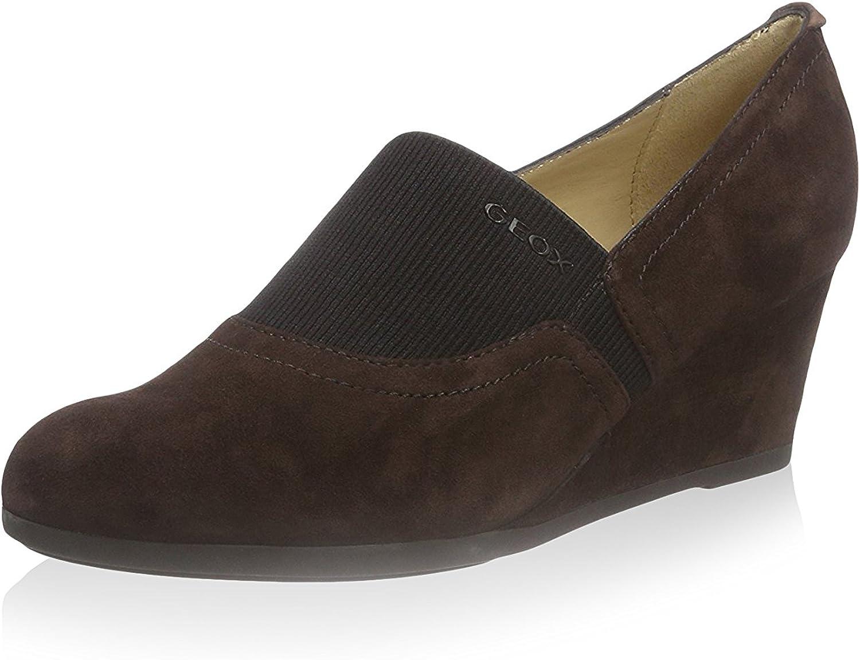 Geox Halbschuhe  Derby-Schuhe, Farbe Braun, Marke, Modell Halbschuhe Halbschuhe  Derby-Schuhe D CHLODIA A Braun  am besten kaufen