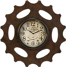ساعة حائط من آي ماكس بتصميم معدات مطلية