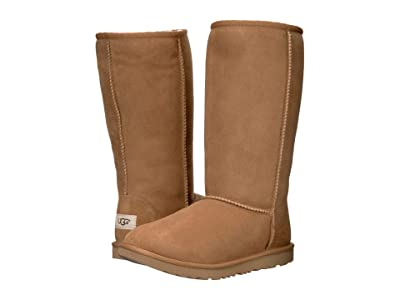 UGG Kids Classic Tall II (Little Kid/Big Kid) (Chestnut) Girls Shoes