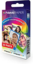 Polaroid 2x3 inch Rainbow Border Premium ZINK Photo Paper TWIN PACK (20 Sheets)