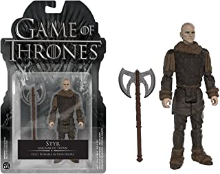 Styr: Funko x Game of Thrones Mini Action Figure + 1 Official Game of Thrones Trading Card Bundle