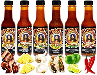 Rocky's Hot Sauce Variety Pack, 6 Jars - Gourmet Red Chili Sauce with Perfectly Balanced Heat – Great Hot Sauce Gift Set, ...
