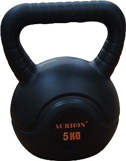 Aurion 5KGSET Kettlebell, 5Kg (Black/White)