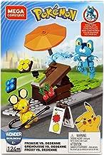 Mega Construx Pokemon Froakie Vs. Dedenne