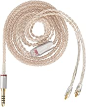 ORIVETI Affinity - Premium OCC Copper & SPC(Silver Plated Copper) Hybrid 8 cores IEM Replacement/Upgrade Cable (4.4mm Balanced Plug, MMCX) for Sony TA-ZH1ES PHA-2A NW-ZX300A NW-WM1Z NW-WM1A Players