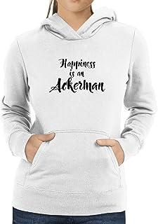 Eddany Happiness is a Ackerman Women Hoodie