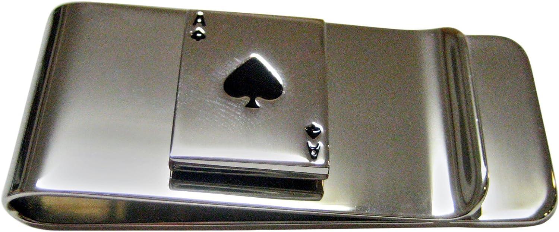 Kiola Designs Shiny Ace of Spades Money Clip