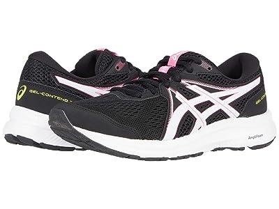 ASICS GEL-Contend(r) 7 (Black/Hot Pink) Women