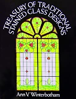 Treasury of Traditional SG Designs - Stained Glass Pattern Book - DISCONTINUED