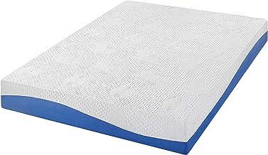 Olee Sleep Aquarius 10-Inch Memory Foam Mattress in Blue, Full