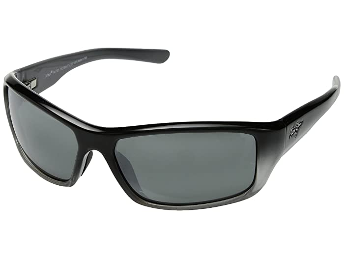 Barrier Reef (Black/Silver/Grey/Neutral Grey) Athletic Performance Sport Sunglasses