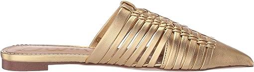 Dark Gold Soft Metallic Sheep Leather