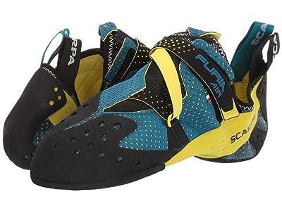 Scarpa Furia Air (Blue/Yellow) Climbing Shoes