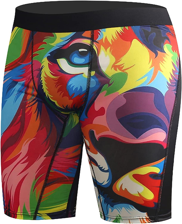 Men's Coolzone Boxer Briefs Breathable Underwear Lightweight Performance Printed Boxer Briefs