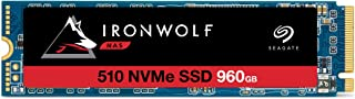 Seagate IronWolf 510 960GB NAS SSD Internal Solid State Drive – M.2 PCIe for Multibay RAID System Network Attached Storag...