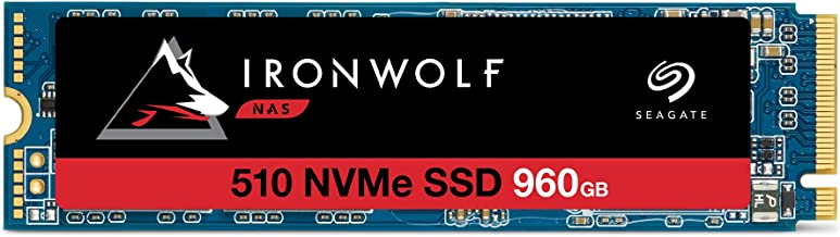 Seagate IronWolf 510 960GB NAS SSD Internal Solid State Drive – M.2 PCIe for Multibay RAID System Network Attached Storage...