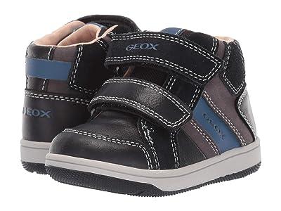 Geox Kids Newflick 12 (Toddler) (Black/Light Black) Boys Shoes