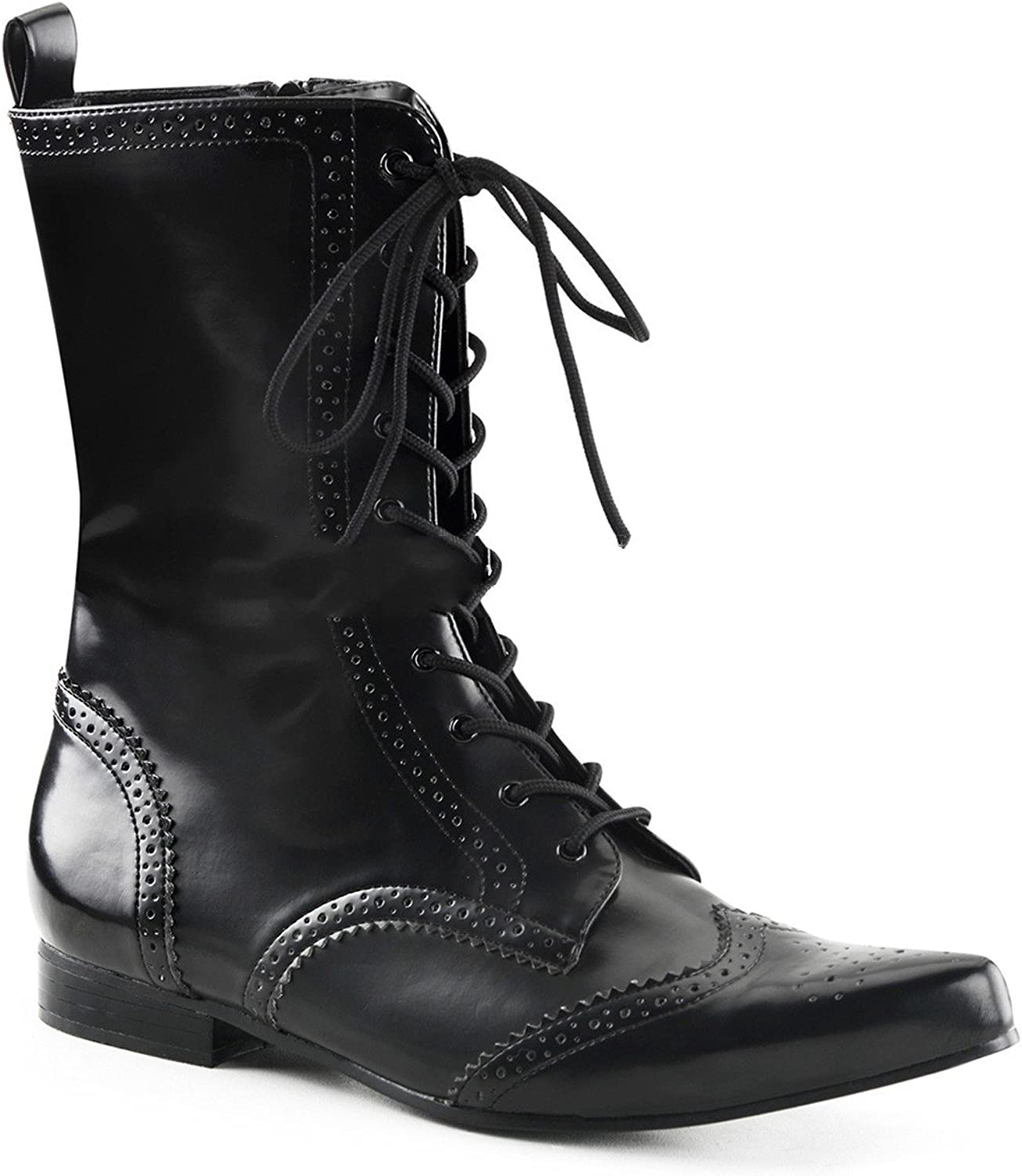 Demonia Brogue-10 - Gothic Punk Industrial Punk Industrial Pikes Booties shoes 7-12