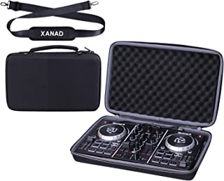 XANAD Hard Case Compatible for Numark Party Mix or Native Instruments Maschine Mikro Mk3 Drum DJ Controller with Shoulder ...
