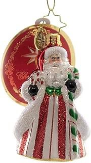 Christopher Radko Peppermint Candy Kringle Gem Christmas Ornament