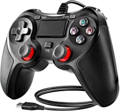 BuFan Mando PS4, Joysticks con Seis ejes Dual Vibration