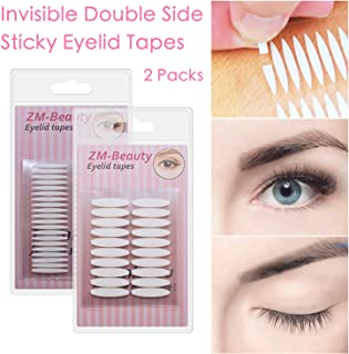 2 Packs Invisible Double Side Eyelid Tapes Stickers, Medical-use Adhesive Eyelid Strips, Instant Eye Lift Without Surgery, Perfect for Hooded, Droopy, Uneven, Mono-eyelids
