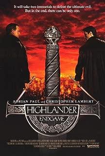 highlander endgame poster