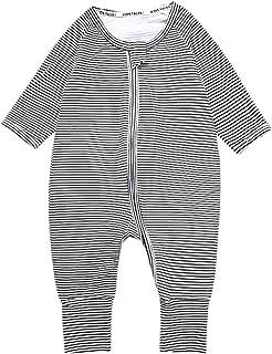 117099bb38e6b Bébé Pyjamas Barboteuses Coton Grenouillères Manches Longues Outfits
