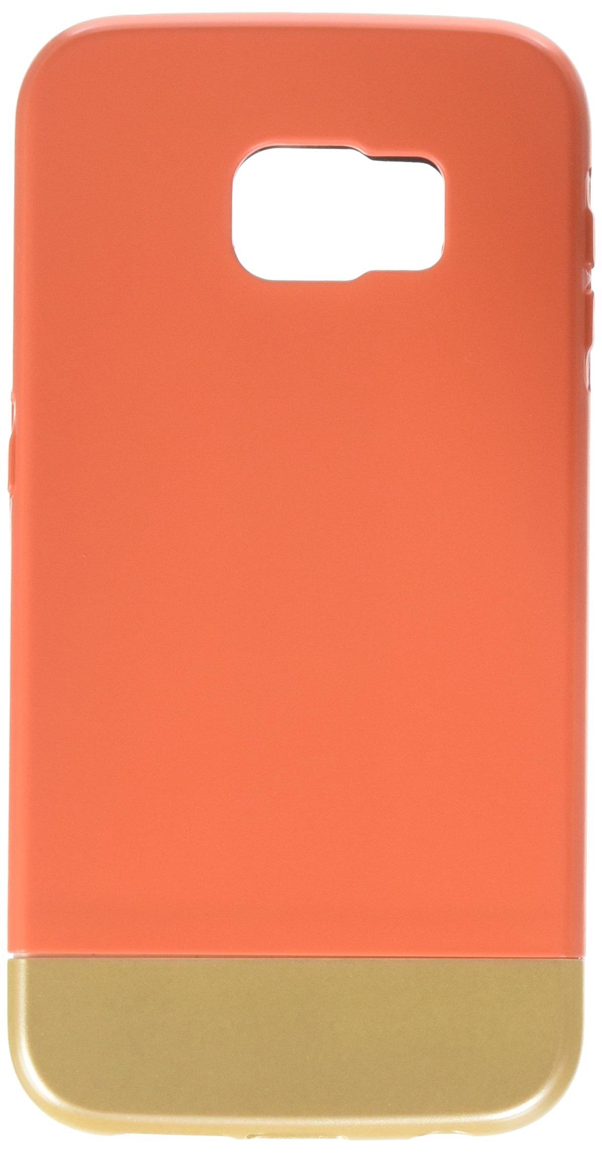 orange samsung s6 edge case amazon comgalaxy s6 edge case, ulak hybrid case with inner soft tpu and hard outer matte
