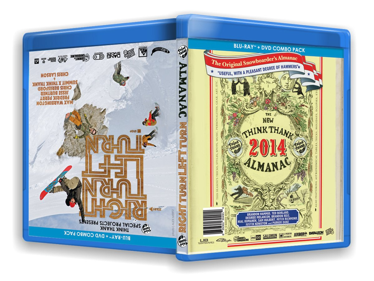 Right Turn Left Almanac DVD Blu-Ray Videos 2 At the price of surprise Clearance SALE Limited time Combo.