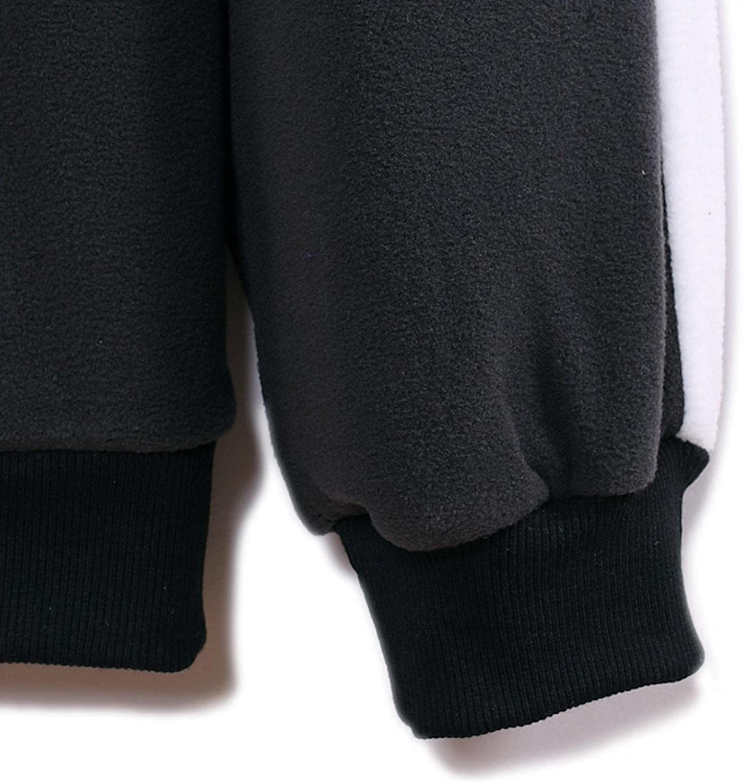Hoodies for Men Mens Casual Color Block Sweatshirt Stand Collar Pullover Fashion Zipper Fashion Sweatshirt And Hoodies