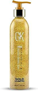 Global Keratin GK HAIR Gold Shampoo (250ml / 8,5 fl. oz) Idratante per capelli / Lucentezza e protezione con olio di arga...