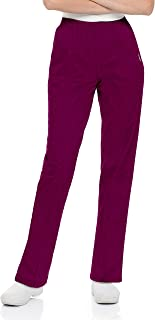 Landau Women's Plus Comfortable 2-Pocket Classic Fit Medical Scrub Pant Uniform, Teal, 2X-Large Petite