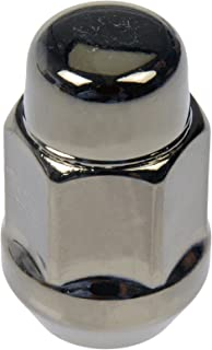 Dorman 711-335H Pack of 16 GunMetal Wheel Nuts and 4 Lock Nuts with Key