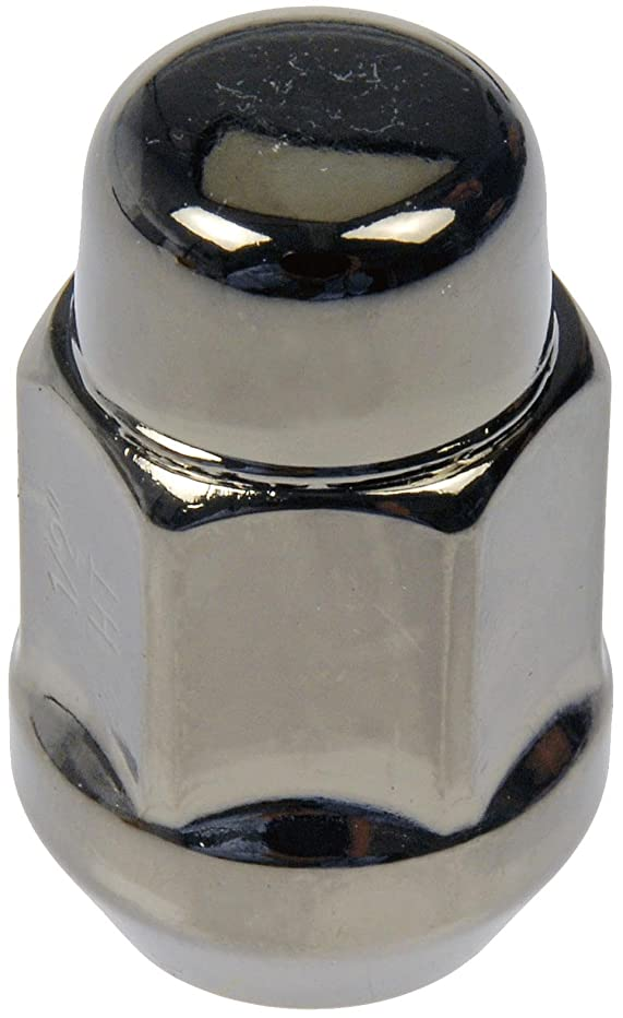 Dorman 711-235H Pack of 16 GunMetal Wheel Nuts and 4 Lock Nuts with Key