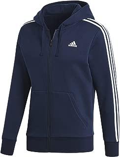 blue adidas jacket with hood