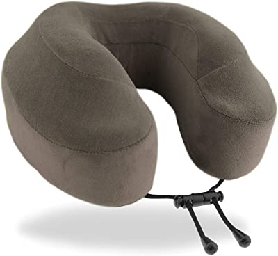 Cabeau Evolution Classic 100% Memory Foam Travel Neck Pillow for Airplanes and Travel, 360-Degree Support Backed by Sleep Science