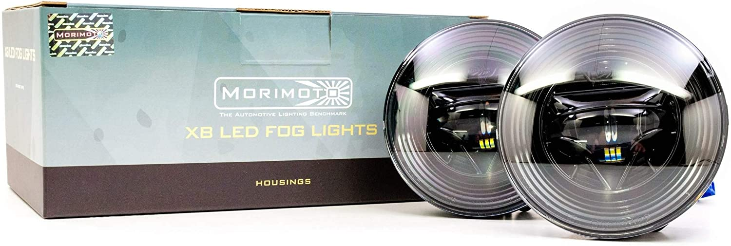 Morimoto 2x Type GM XB Fog Shipping included Light Inventory cleanup selling sale Kit LED