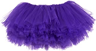 Big Girls 10-Layer Short Ballet Tulle Tutu Skirt (4T-10yr)