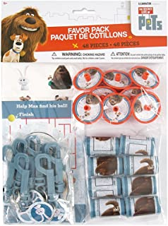 The Secret Life of Pets Party Favor Kit, 48pc