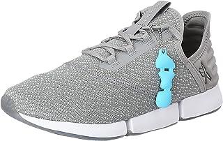 Reebok Dailyfit Side-Logo Lace-Up Slip-On Walking Sneakers for Women - Grey, 40.5 EU