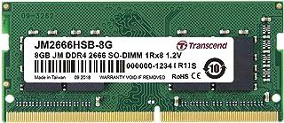 Transcend ノートPC用メモリ PC4-21300 (DDR4-2666) 8GB 260pin SO-DIMM 1.2V CL19 (無期限保証) JM2666HSB-8G