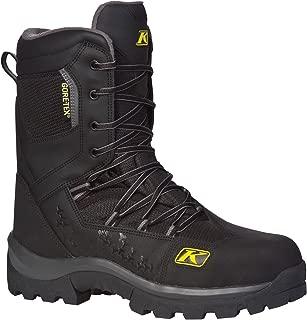 Klim Adrenaline GTX Men's Snocross Snowmobile Boots - Black/Size 7