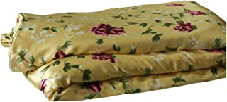 MAXFEEL Silk 1pc Silk Duvet Cover, Quilt Cover, Comforter Cover, 100% 16.5mm Print Mulberry Silk,Charmuse Silk, Queen Cal.King Full King Twin Size #12 (Twin)