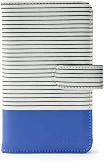 Fujifilm Instax Mini - Álbum Rayas para 108 Fotos Color Azul Cobalto